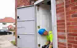 Steel Security Door Repairs Fulwwod