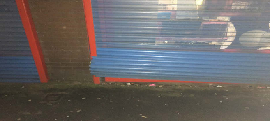 Emergency Commercial Roller Shutter Repairs Fulwood