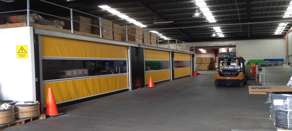 High Speed Roller Shutters Preston