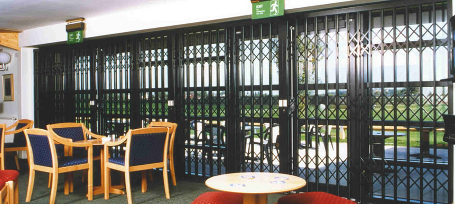 Commercial Security Grilles Preston